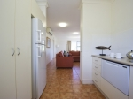 From Kitchen in to living area odd numbered apartments