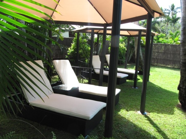 Cabana area - Grab a book, maybe a cool drink and relax
