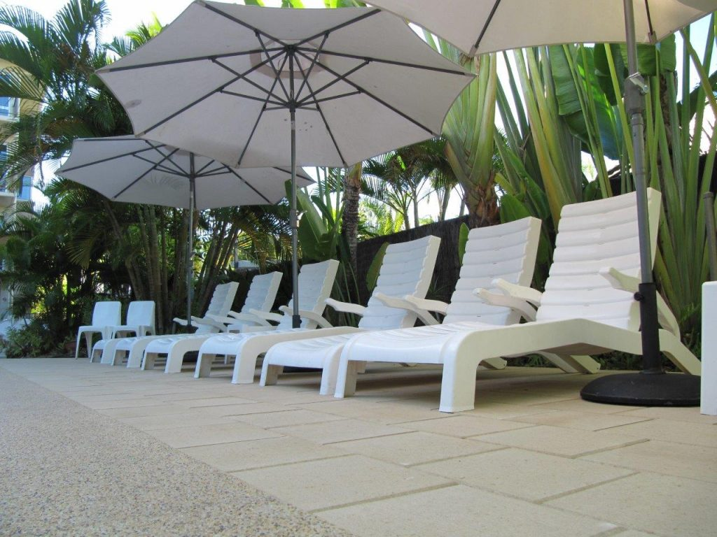 Pool Area - Which chair will be yours?